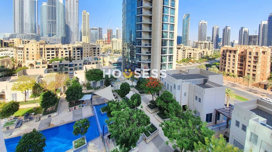 2 Luxury 2 BR | Spacious | Pool View | Iconic Location