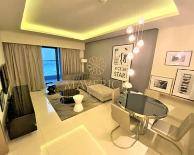 1 Bedroom Flat for Rent in Business Bay, Dubai - Luxury Furnished 1BR | Iconic View | 4 Cheques