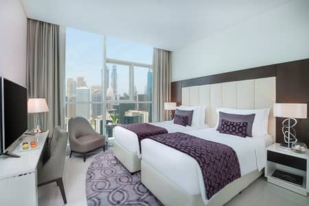 3 Bedroom Flat for Rent in Downtown Dubai, Dubai - Full Burj Khalifa View | 3 Bedrooms with Maid's Room