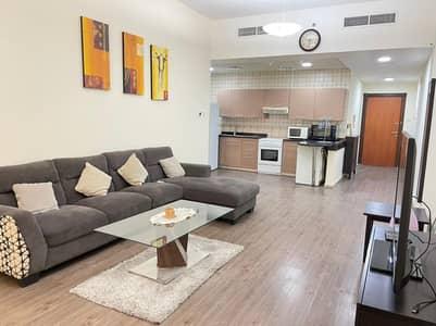 فلیٹ 1 غرفة نوم للايجار في واحة دبي للسيليكون، دبي - شقة في أبراج القصر 2 أبراج القصر واحة دبي للسيليكون 1 غرف 40000 درهم - 4990573