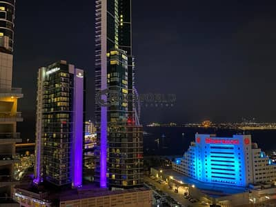 1 Bedroom Flat for Rent in Dubai Marina, Dubai - Higher Floor | Full Marina View | Bright & Spacious