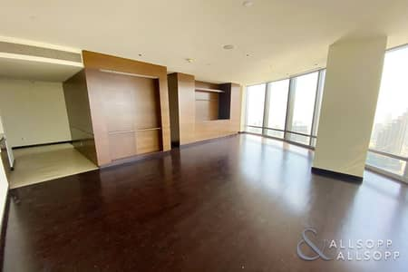 2 Bedroom Flat for Rent in Downtown Dubai, Dubai - Sea View | Panoramic View | Two Bedrooms