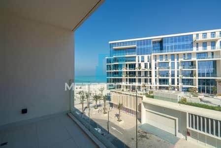 2 Bedroom Apartment for Rent in Saadiyat Island, Abu Dhabi - Partial Sea View  Beach Access   Spacious Layout