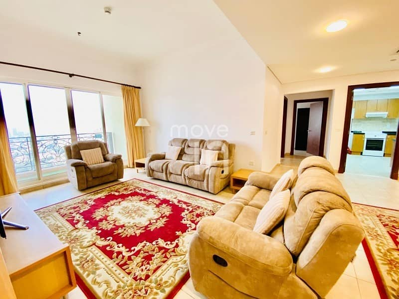 Stylish Furnished 2 Bed High Floor Open Views