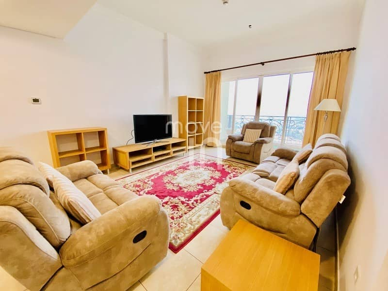 2 Stylish Furnished 2 Bed High Floor Open Views