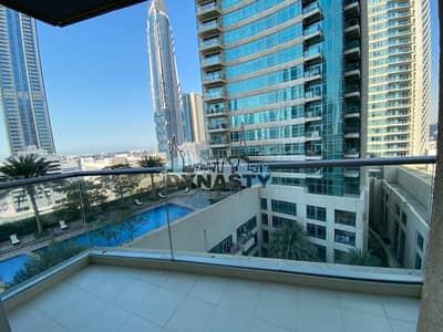 فلیٹ 2 غرفة نوم للايجار في وسط مدينة دبي، دبي - Exquisite View   Upgraded Unit   Partial Burj View
