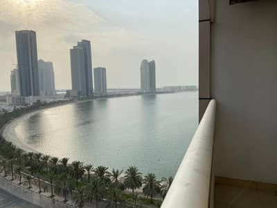1 Bedroom Apartment for Rent in Al Mamzar, Sharjah - Sea view 1bhk in al mamzar sharjah rent 32k with parking 1month free