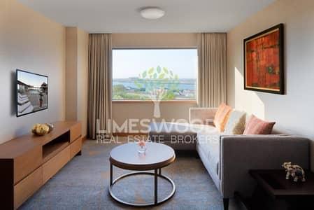 شقة فندقية 2 غرفة نوم للايجار في ديرة، دبي - Elegant 2br plus 1 month free all bills included