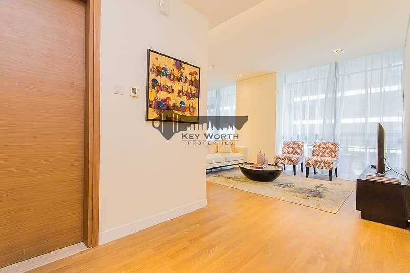 2 Elegant & Spacious fully furnished 2BR + Maid apartment for sale !