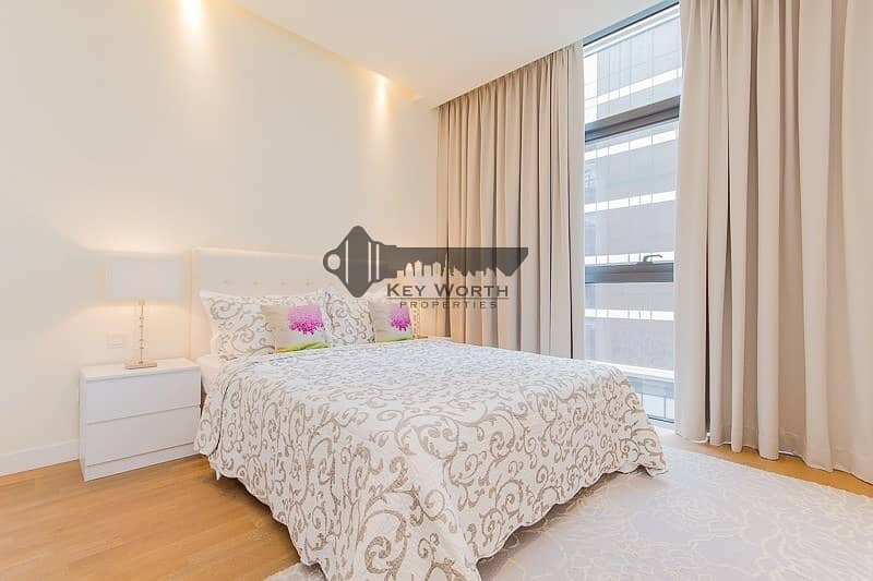 17 Elegant & Spacious fully furnished 2BR + Maid apartment for sale !