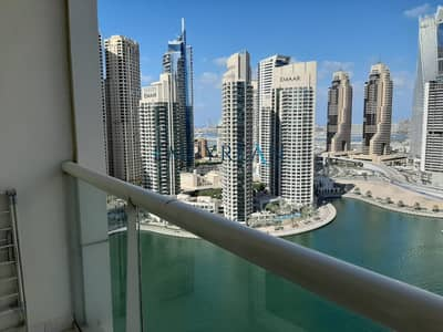 Studio for Rent in Dubai Marina, Dubai - Furnished Studio Overlooking Marina Lake | Close To Metro