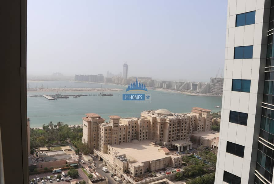 2 Fully Furnished 1BR / Chiller Free / City and Sea View