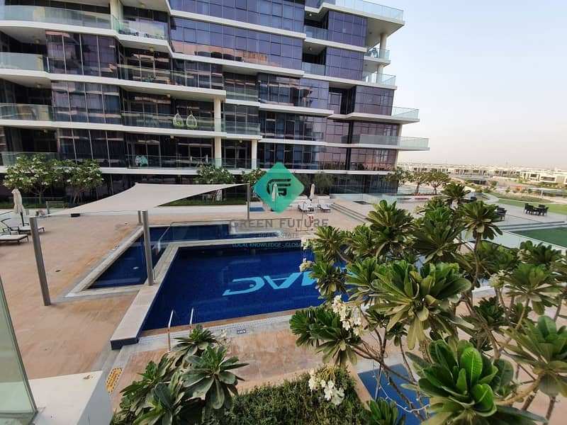 2 Spacious Pool View Studio | Fully Kitchen Equipped |  Big Balcony