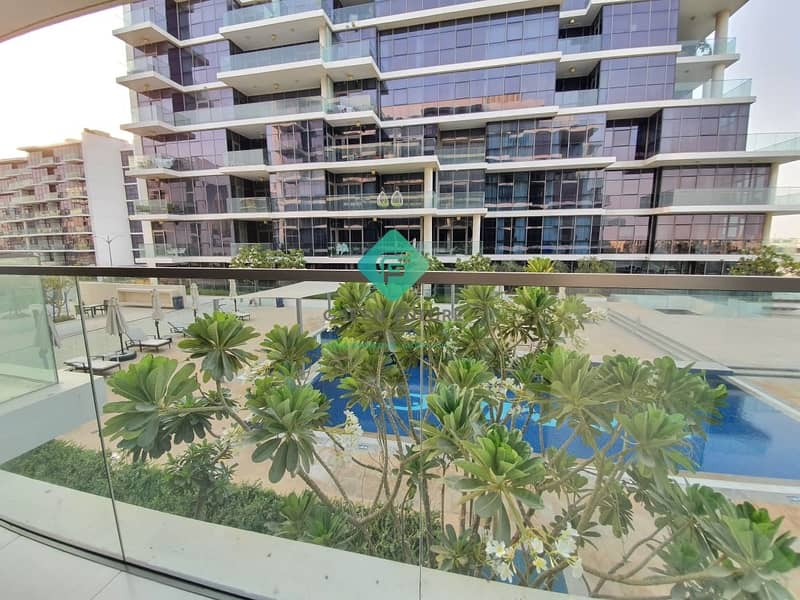 11 Spacious Pool View Studio | Fully Kitchen Equipped |  Big Balcony