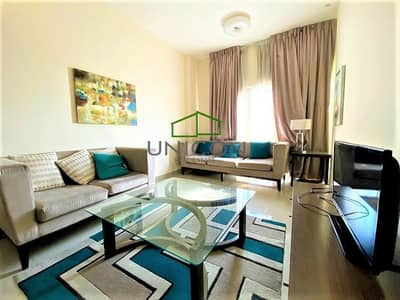 1 Bedroom Apartment for Rent in Downtown Jebel Ali, Dubai - Beautiful Cozy Bright Furnished 1 Bed Apt