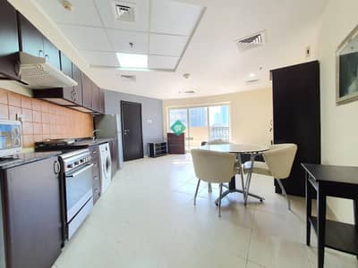 Studio for Rent in Jumeirah Village Circle (JVC), Dubai - Huge Balcony Furnished Studio | Corner Unit |