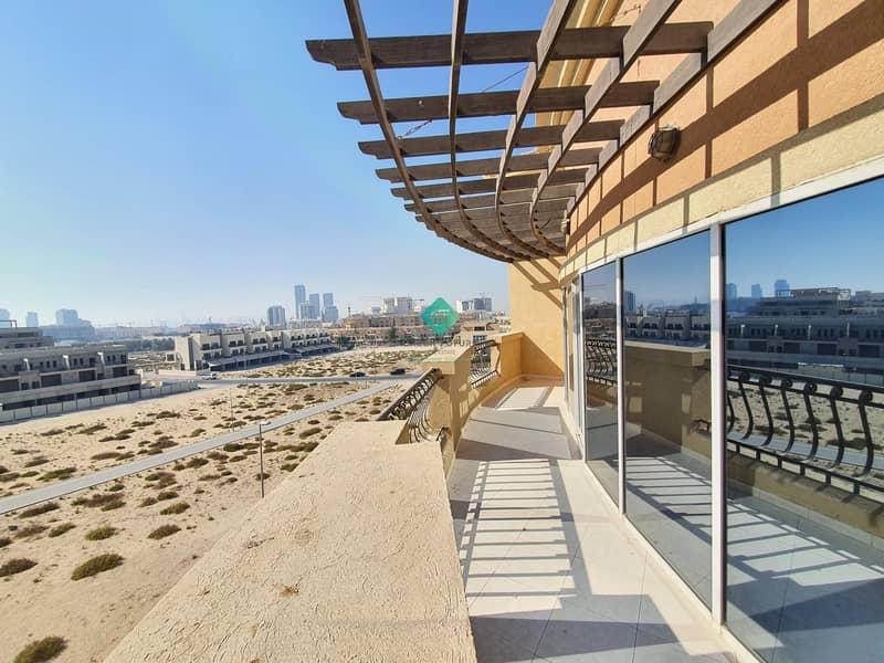 2 Huge Balcony Furnished Studio | Corner Unit |