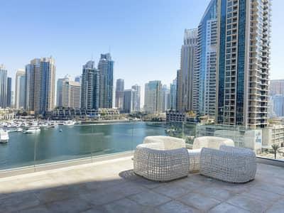 2 Bedroom Flat for Rent in Dubai Marina, Dubai - MARINA + SEA VIEW | HIGH FLOOR | BIGGEST LAYOUT