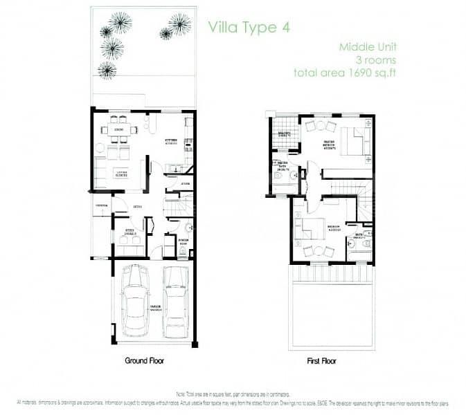 2 Type 4E  Extended Villa  Fully Upgraded Extra Bath