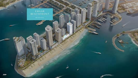 2 Bedroom Flat for Sale in Dubai Harbour, Dubai - Full palm Jumeriah / sea view with beach access