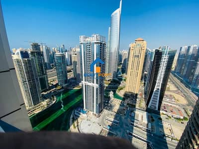 2 Bedroom Apartment for Rent in Jumeirah Lake Towers (JLT), Dubai - High Floor Beautiful Un-Furnished 2BHK