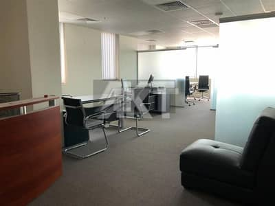 Office for Rent in Business Bay, Dubai - 60 K / 4 chqs / Fully Furnished / Water Kitchen & Glass Partitions / The Executive Bay Tower B / Business Bay