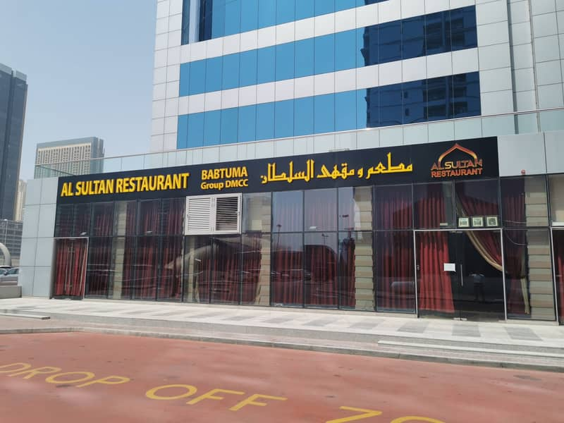 Fully fitted and furnished restaurant for rent in JLT (DMCC) metro station