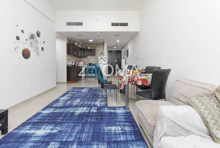 1 Bedroom Apartment for Sale in Dubai Sports City, Dubai - Rented Apartment | Spacious | Frankfurt Tower