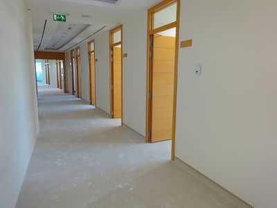 Office for Rent in Al Hudaiba, Dubai - 250 sq ft FITTED OFFICE SPACE NEAR  RASHID PORT,  WITH FREE DEWA AND MEETING ROOM