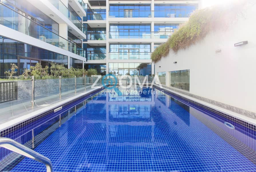18 High End Finishing   Pool View   1 Bedroom