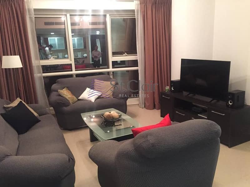 10 Goldcrest Executive Tower 1 Bed Room Furnished  Rent 49000