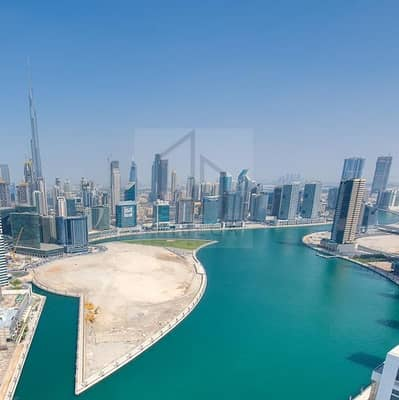 1 Bedroom Flat for Rent in Business Bay, Dubai - Luxurious Apartment | Full Lake View | Monthly Payment