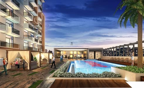 1 Bedroom Apartment for Sale in Arjan, Dubai - Luxury Furnished 1 Bedroom Handover on June 2021 | Option on 100% Cash & 40/60 Payment Plan (1% Payment till 2026)