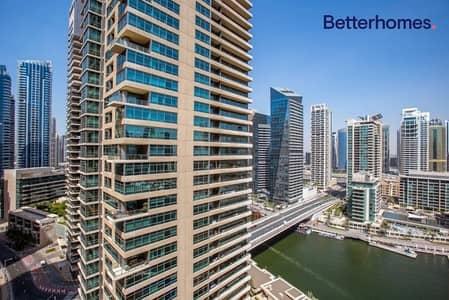فلیٹ 1 غرفة نوم للبيع في دبي مارينا، دبي - Marina View | Vacant On Transfer | Unfurnished