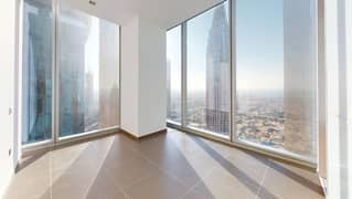 شقة في برج رولكس شارع الشيخ زايد 3 غرف 129000 درهم - 4993419