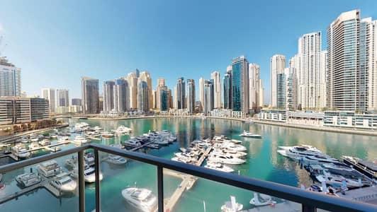 فلیٹ 2 غرفة نوم للايجار في دبي مارينا، دبي - 50% off commission I Chiller free I Balcony