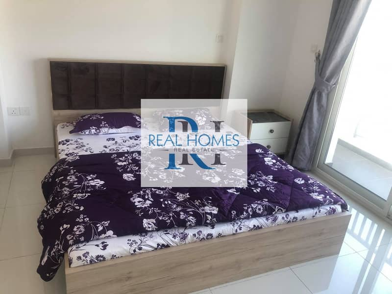 2 Furnished 1 Bedroom with Balcony! Parking !  Monthly 4500