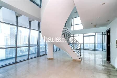 3 Bedroom Penthouse for Rent in Dubai Marina, Dubai - Outstanding Duplex Penthouse   Marina View