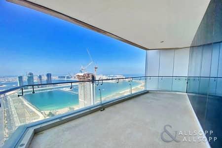 4 Bedroom Penthouse for Sale in Dubai Marina, Dubai - Full Sea View | Vacant | Half Floor | 4Bed