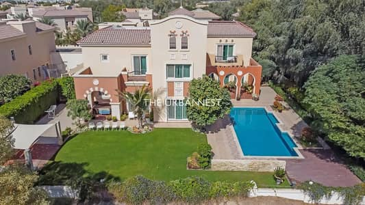 6 Bedroom Villa for Sale in Dubai Sports City, Dubai - One of a Kind Type A1 | Extended Pool | Upgraded