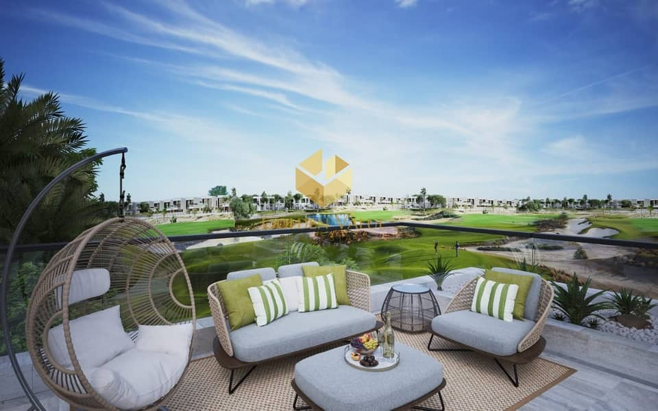 2 Great Offer/Melrose Luxury Golf Front Lake 5 Bed Villas With 4 years payment plan