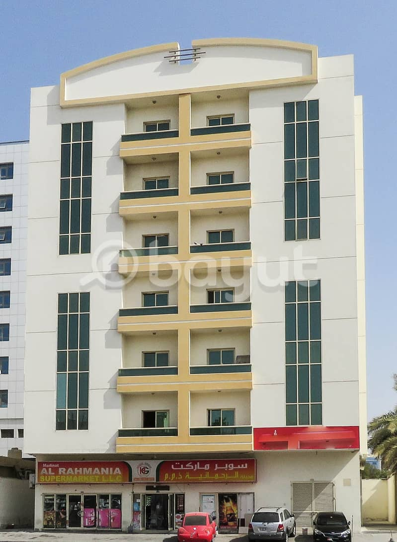 For rent Rashidiya2 room and hall with balcony, large area, central Ac with two months free