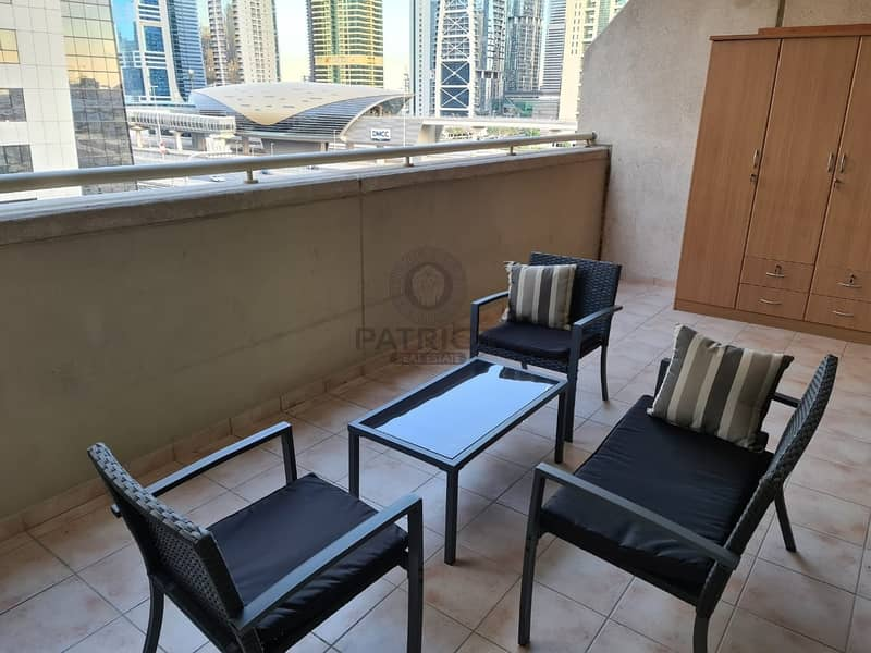 12 Fully furnished 1bhk in a beautiful apartment at Dream Tower 1