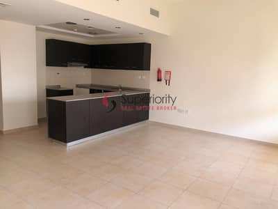 2 Bedroom Apartment for Rent in Remraam, Dubai - Available 1Bedroom Apartment in Al Thamam builiding with open Kitchen