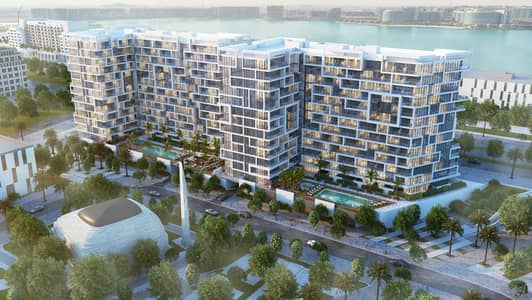 1 Bedroom Apartment for Sale in Yas Island, Abu Dhabi - without Down payment Own your apartment in yas island with sea view \ 1% monthly \ Hot offer\ fully furnished
