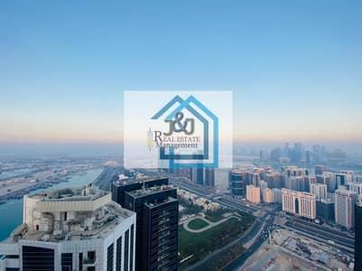 شقة 5 غرف نوم للايجار في شارع الكورنيش، أبوظبي - Wonderful 5BR duplex APT.  with beautiful view.At