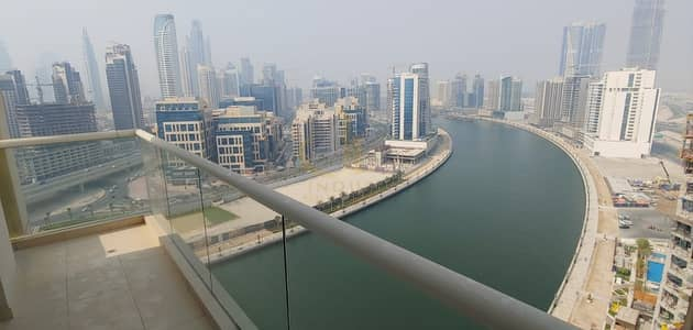 2 Bedroom Flat for Sale in Business Bay, Dubai - Burj Khalifa & Canal view | Furnished 2BR Mayfair Tower