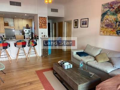 فلیٹ 1 غرفة نوم للايجار في ذا فيوز، دبي - Upgraded Fully Furnished|Huge Terrace|Ground Floor