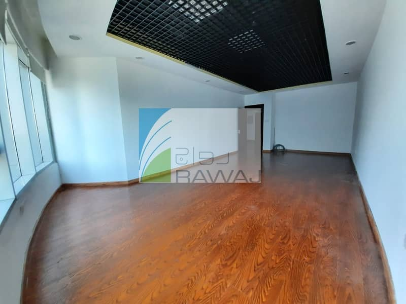 FULLY FITTED OFFICE  WITH PARTITIONED FOR RENT IN ONTARIO TOWER