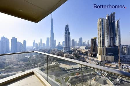 2 Bedroom Apartment for Sale in Downtown Dubai, Dubai - Vacant on Transfer|Top Burj Khalifa View